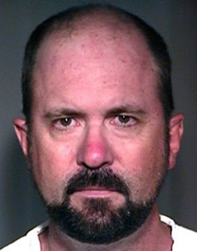 Brad Cooper of Chandler is accused of traveling to Massachusetts, picking up a 14-year-old boy he met online and engaging in sex acts on the trip back to Arizona and at Cooper's home. (Source: Maricopa County Sheriff's Office)