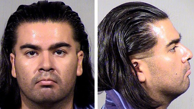 Glendale police arrested Andrew Banda on Friday on 10 counts of sexual exploitation of a minor. (Source: Maricopa County Sheriff's Office)