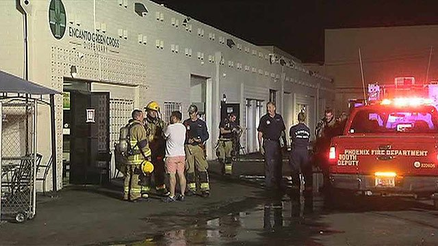 Nearly up in smoke: Fire put out at pot dispensary - WSMV