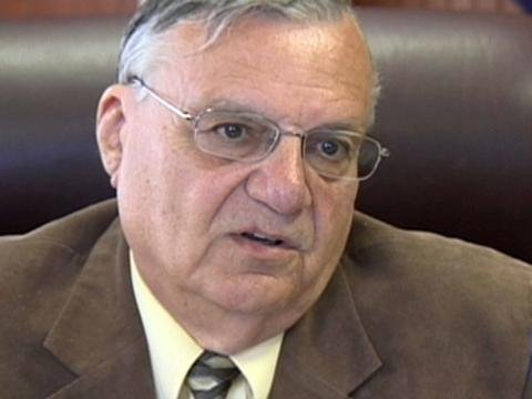 Maricopa County Sheriff Joe Arpaio (Source: CBS 5 News)