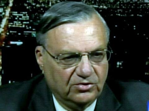 Maricopa County Sheriff Joe Arpaio.