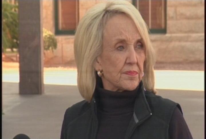 Gov. Jan Brewer (Source: CBS 5 News)