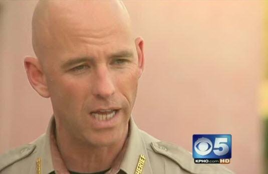 Pinal County Sheriff Paul Babeu (Source: CBS 5 News)