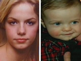Elizabeth Johnson and son, Gabriel Johnson