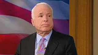 Arizona Sen. John McCain