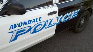 Avondale stabbing scene. (Source: Christina Batson, cbs5az.com)