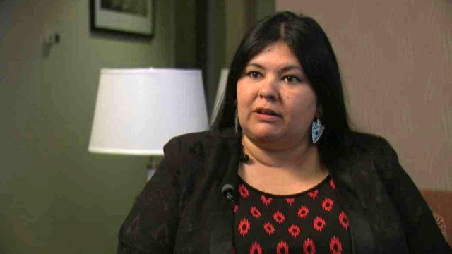 Mayor Rebecca Jimenez said she was shocked by the four-count indictment that alleges she committed welfare fraud by illegally obtaining food stamps. (Source: CBS 5 News)