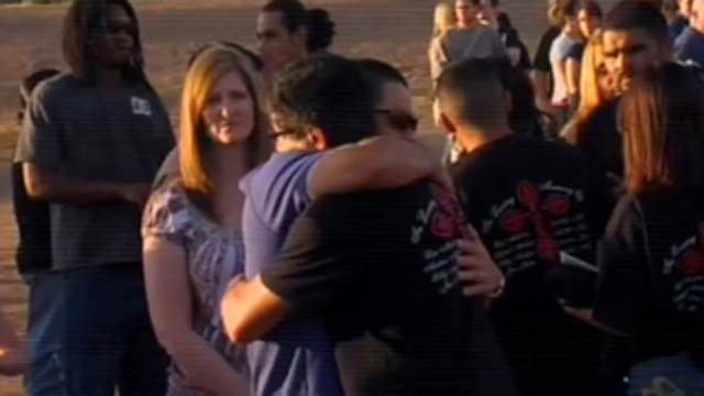 Vigil for Gilbert shooting victims