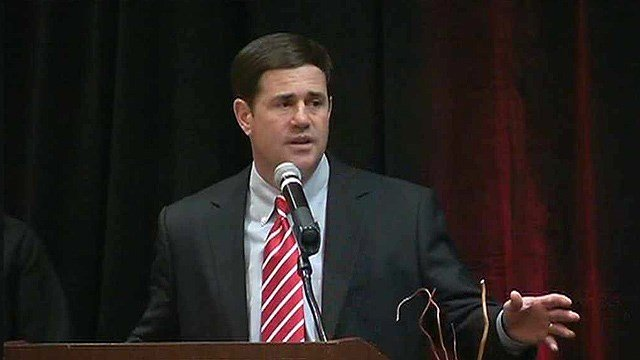 Arizona Gov. Doug Ducey. (Source: CBS 5 News file photo)