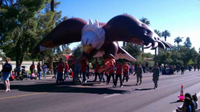 Veterans Day parade in Phoenix
