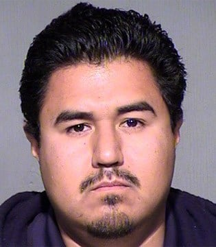 <b>Anthony Hernandez</b> in a Dec. 29, 2014, booking photo. (Source: - 6325787_G