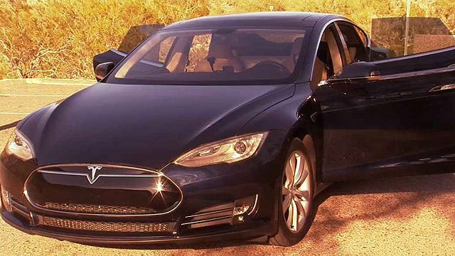 Call it the world's first Tesla hotel, at $85 dollars a night and complete with two remote control candles. (Source: CBS 5 News)