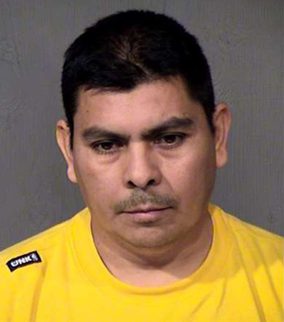Carlos Borja in a Jan. 23, 2014 booking photo. (Source: Maricopa County Sheriff's Office)