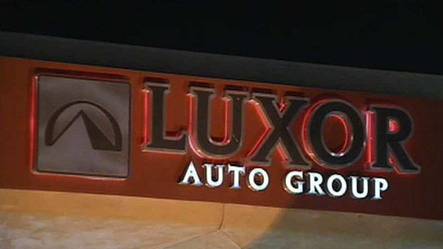 The Luxor Auto Group also has a location in Mesa in specializes in the sales of luxury used cars and SUVs. (Source: CBS 5 News)