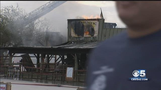 Arpaio: 'We suspect arson' at Buffalo Chip Saloon