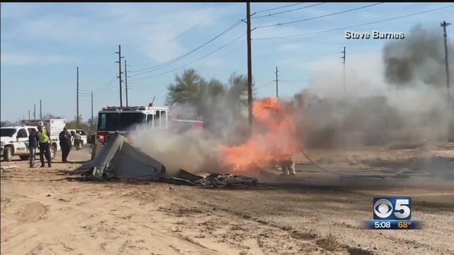1 person killed in Pinal County plane crash