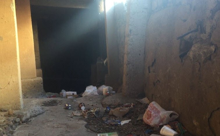 Smugglers use drainage tunnels and sewers to deliver drugs (Photo source: KPHO)