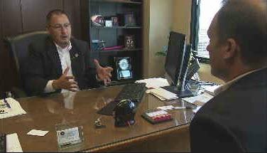 County Supervisor Steve Gallardo believes Tent City isn't saving taxpayers money (Source: KPHO/KTVK)