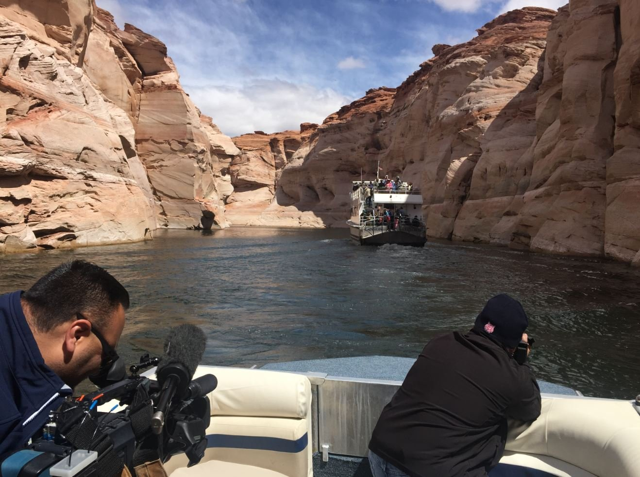 A Lake Powell tour boat operator is facing a federal lawsuit (Source: KPHO)