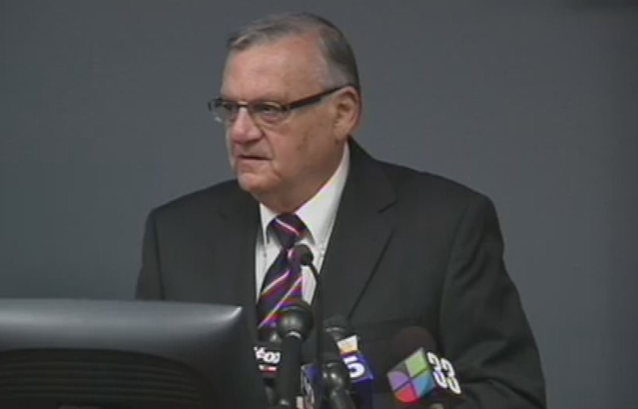 Maricopa County Sheriff Joe Arpaio's campaign has taken in nearly $10 million for his re-election bid. (Source: KPHO)