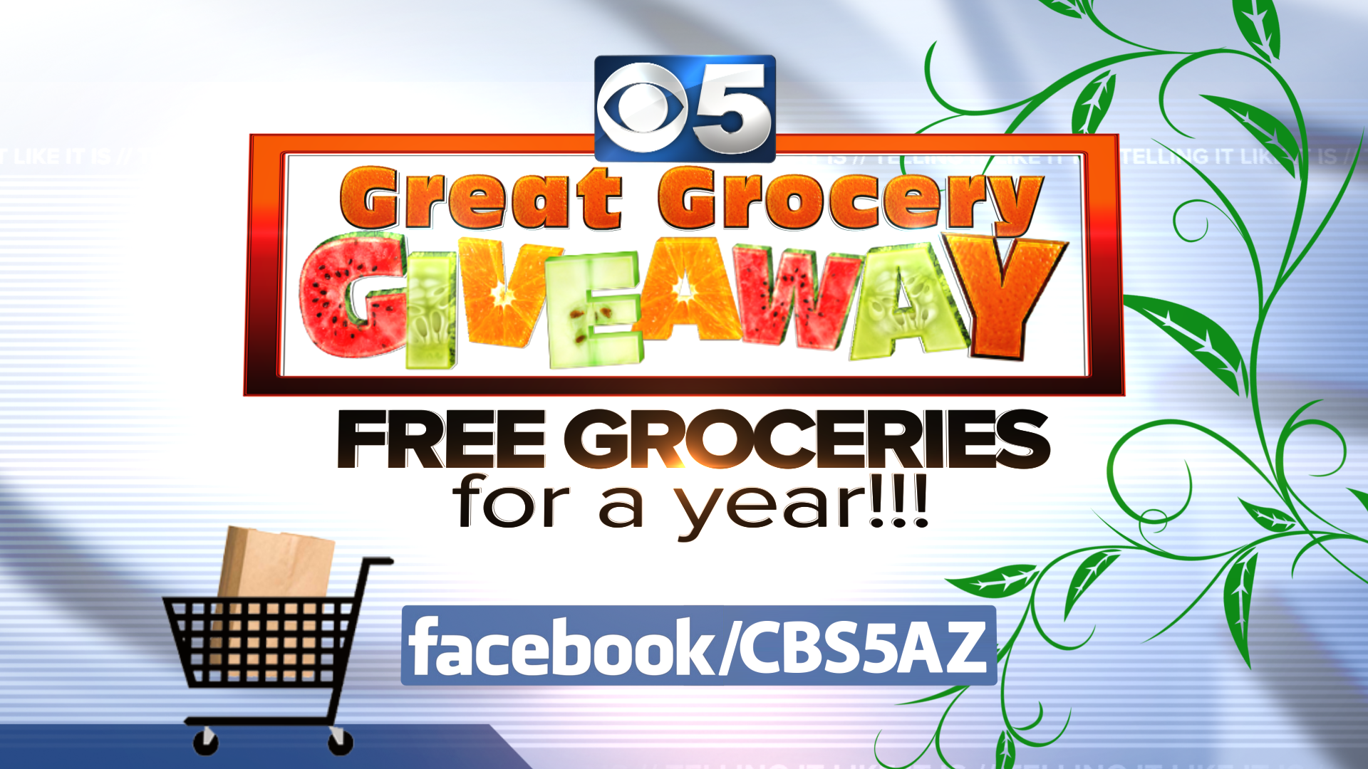 official rules sweepstakes official rules great grocery giveaway sweepstakes 3tv 8269